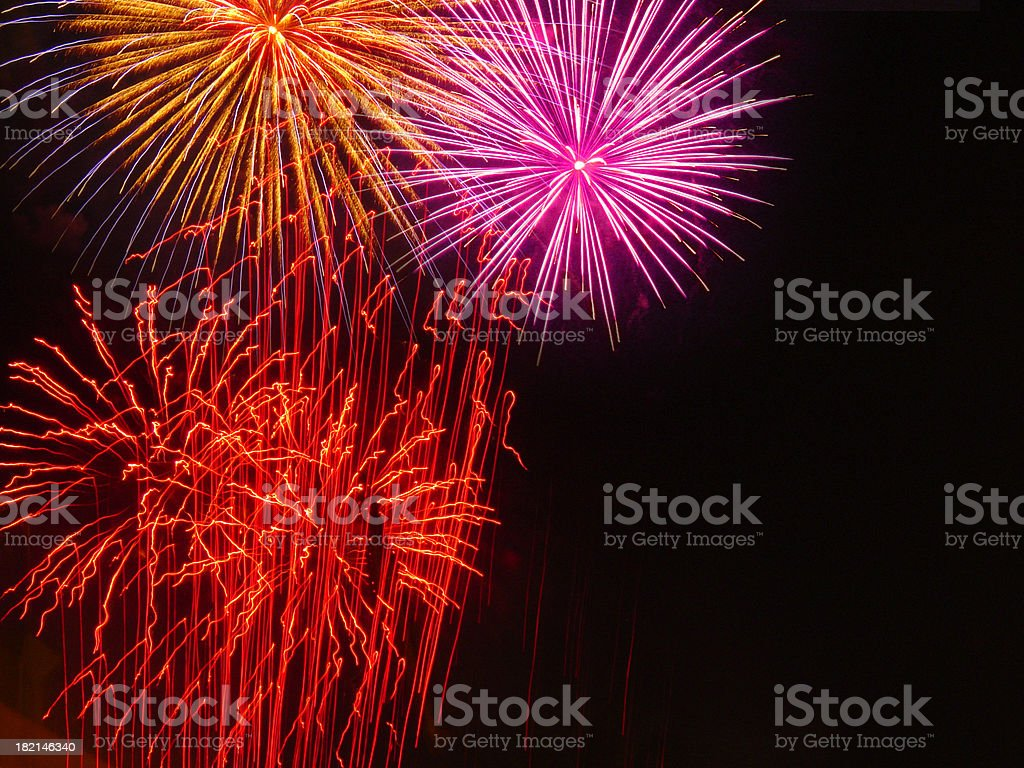 fireworks [7] royalty-free stock photo