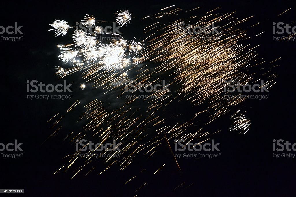 Fireworks 71 stock photo