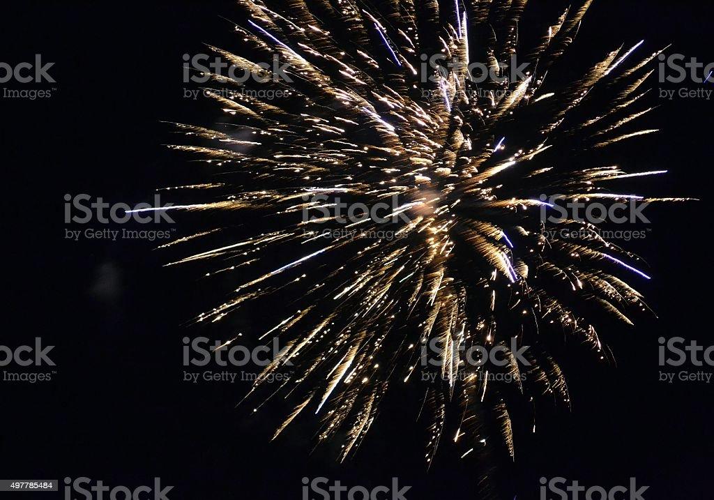 Fireworks 91 stock photo