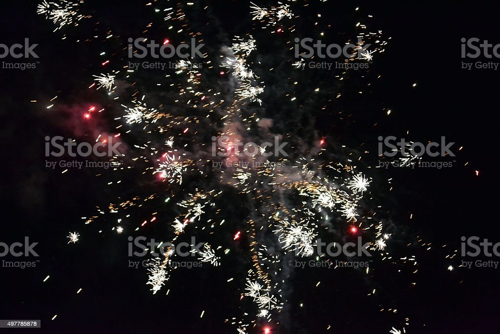 Fireworks 93 stock photo