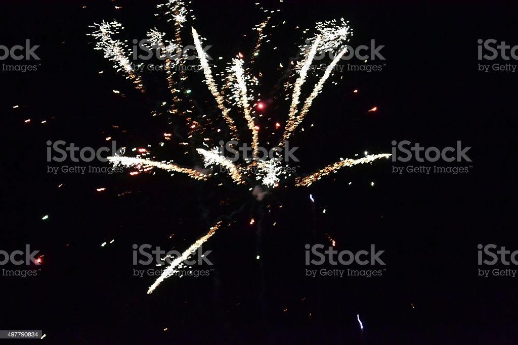 Fireworks 98 stock photo