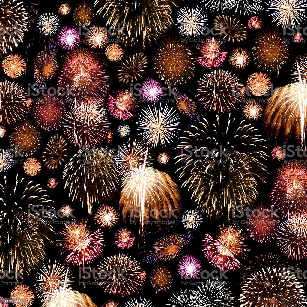 Fireworks Background royalty-free stock photo