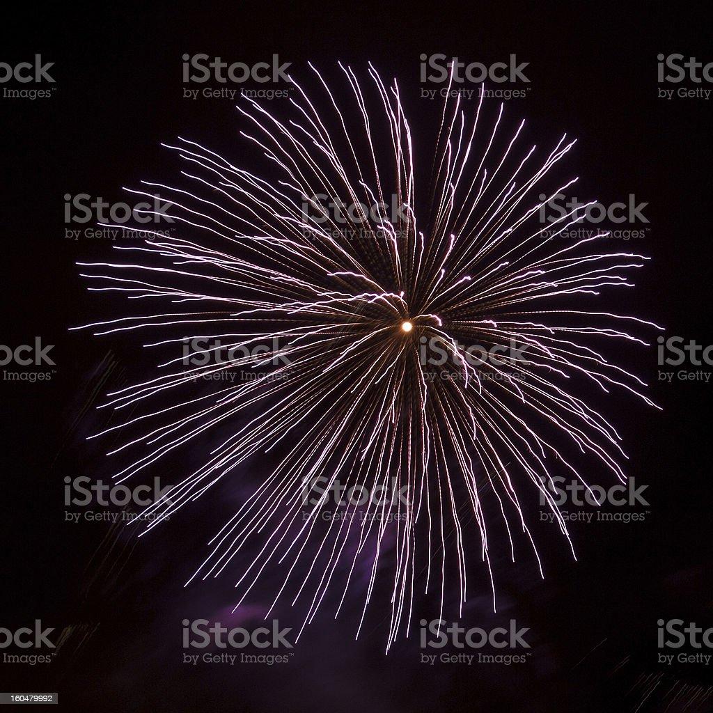 fireworks balls royalty-free stock photo