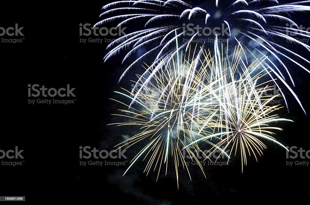 Fireworks close royalty-free stock photo