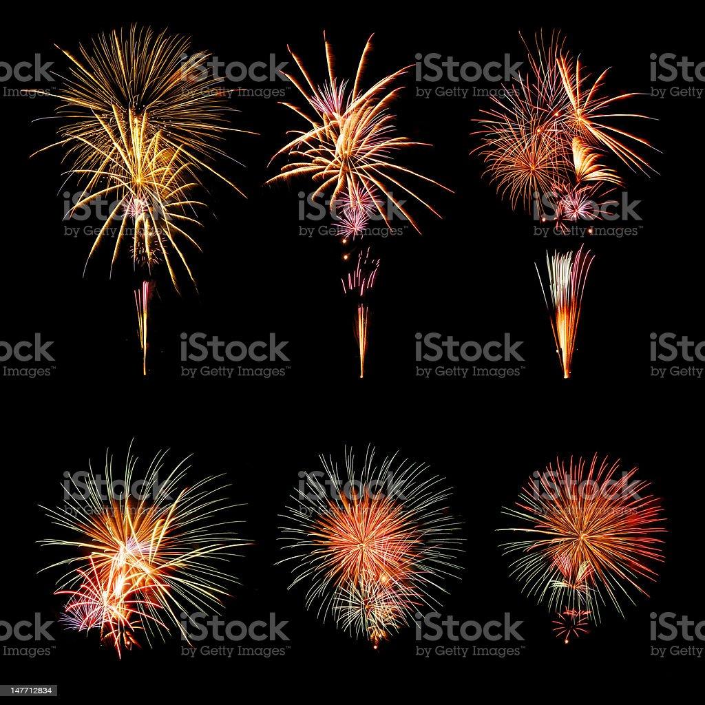 Fireworks Display royalty-free stock photo
