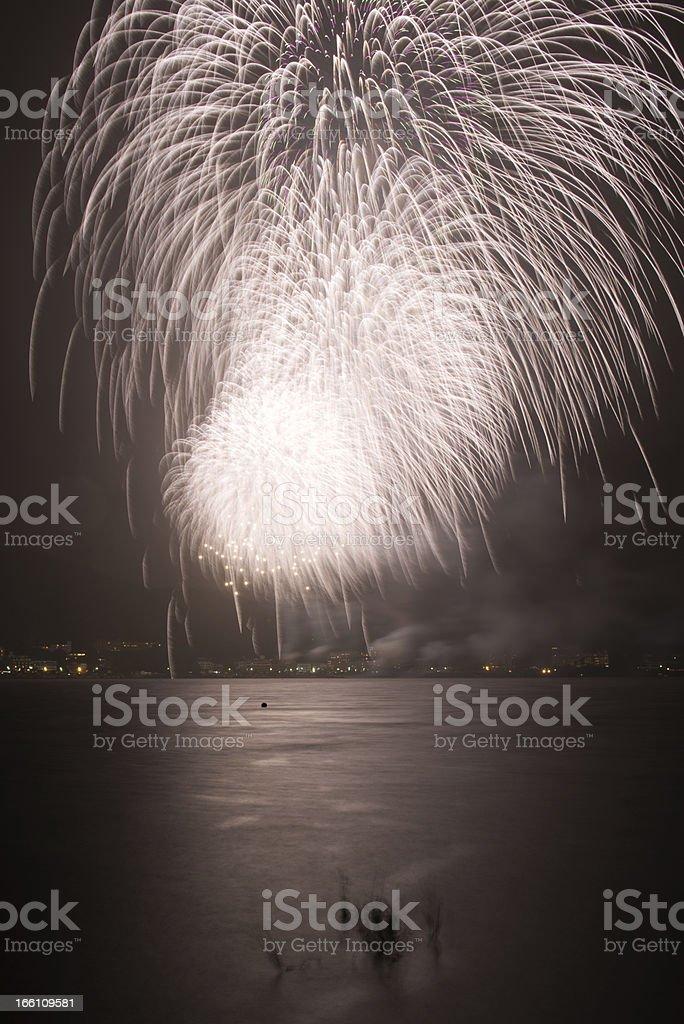 Fireworks like Shower royalty-free stock photo