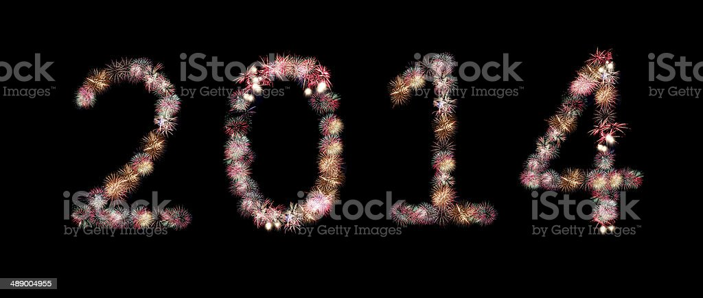 fireworks or firecracker of arrangement to be at number. stock photo