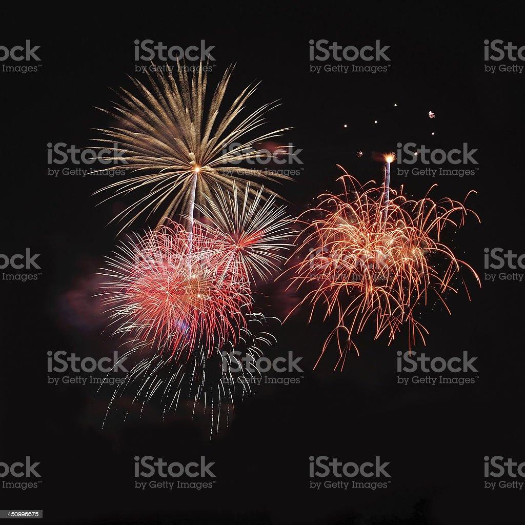 Fireworks royalty-free stock photo