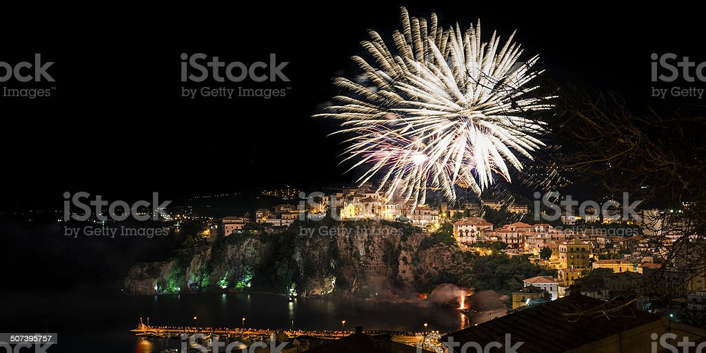 Fuochi d'artificio stock photo
