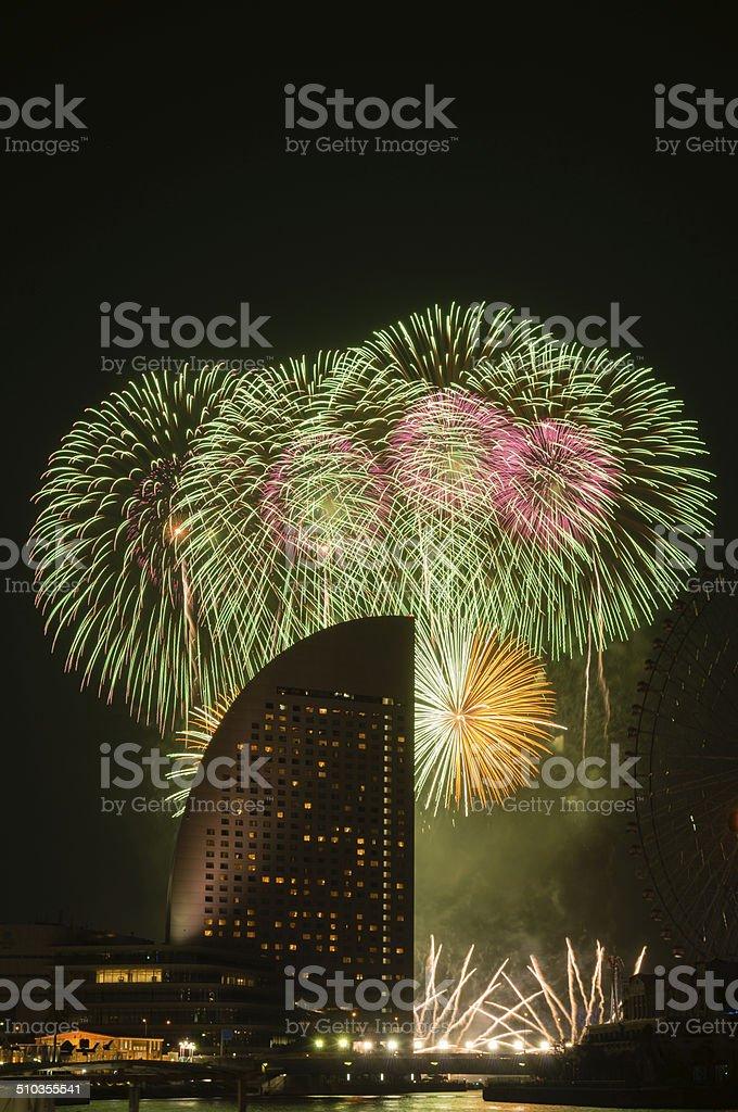 Fireworks (XXXLarge) stock photo