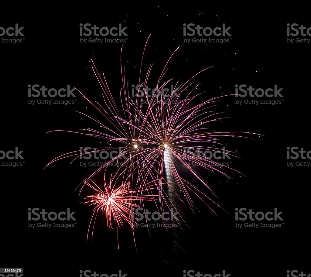 Fireworks (Hilversum, The Netherlands) royalty-free stock vector art