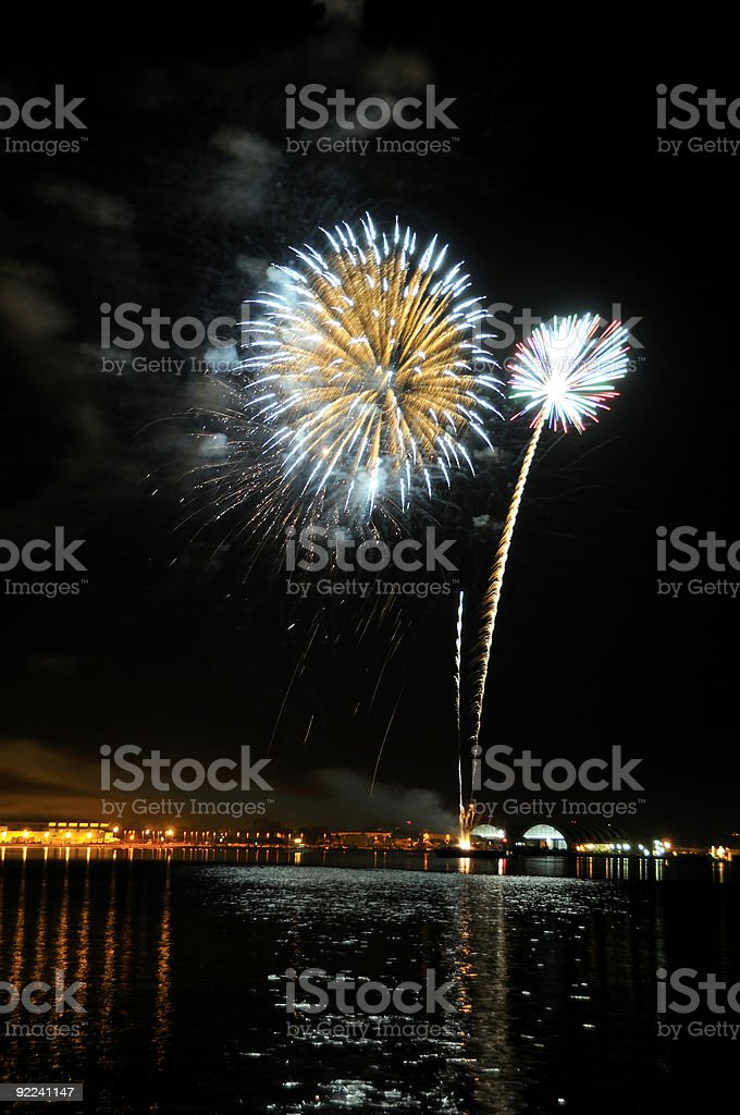 Fireworks! royalty-free stock photo