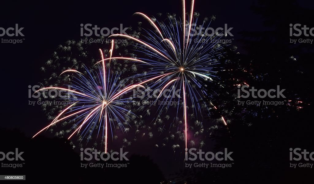 Fireworks Spectacular stock photo