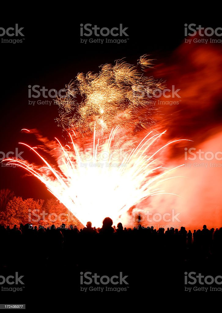 fireworks6 royalty-free stock photo