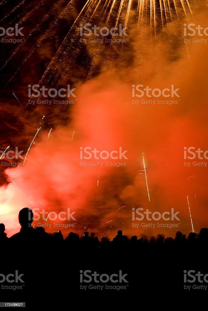 fireworks7 royalty-free stock photo