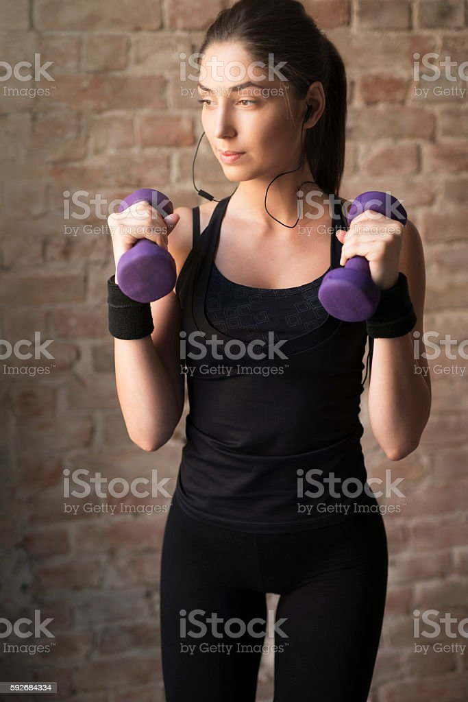 Firm Body stock photo