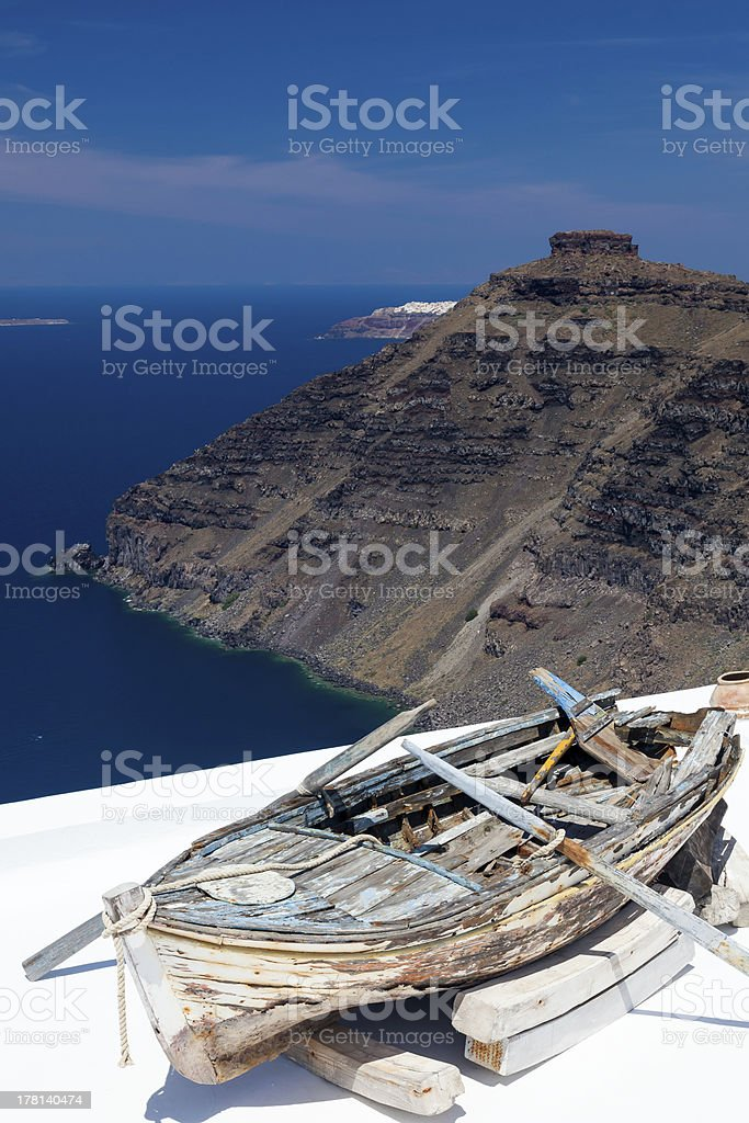 Firostefani Santorin, Grèce photo libre de droits
