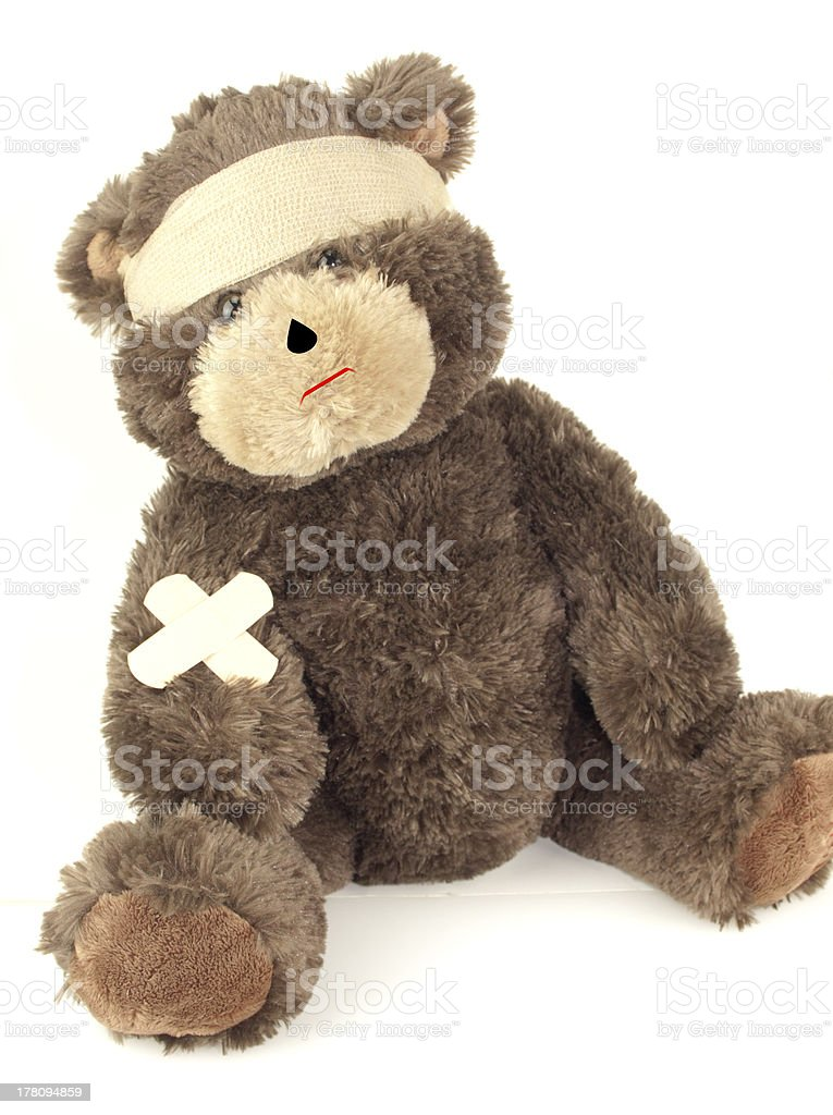 First Aid Bear royalty-free stock photo