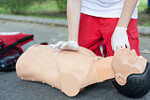 First aid. Cardiopulmonary resuscitation - CPR.