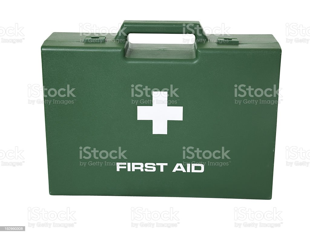 First Aid Case. royalty-free stock photo