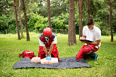 CPR first aid course