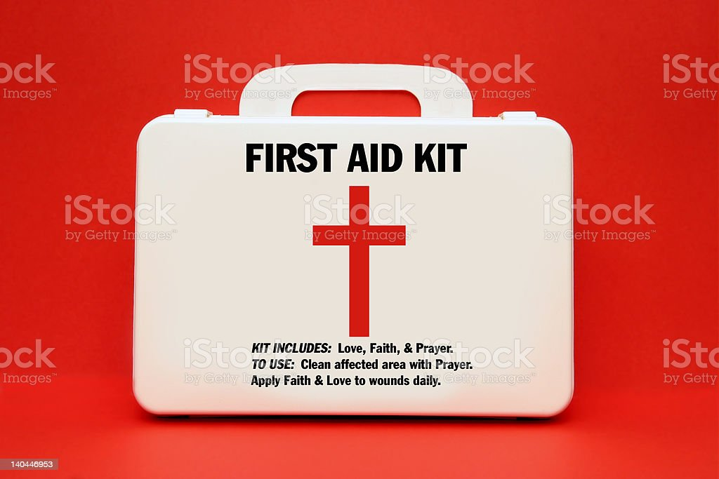 First Aid for the Soul stock photo