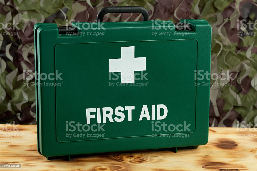 First Aid Kit royalty-free stock photo