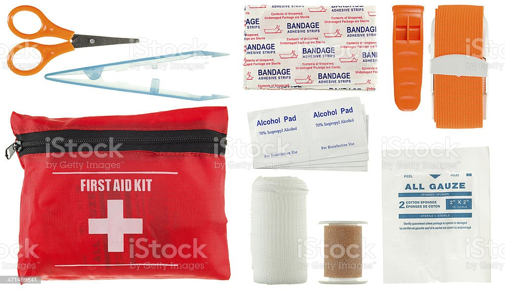 First Aid Kit (small) stock photo