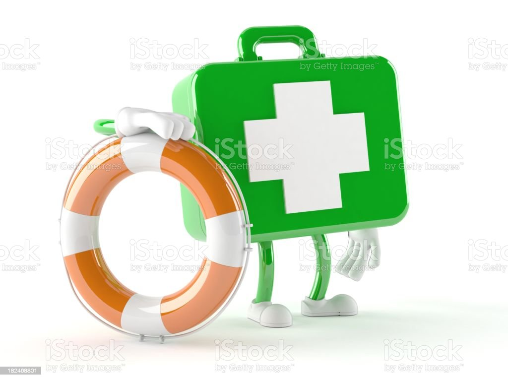 First aid royalty-free stock photo