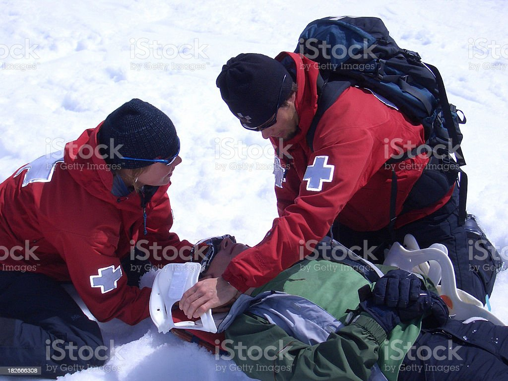 First Aid stock photo