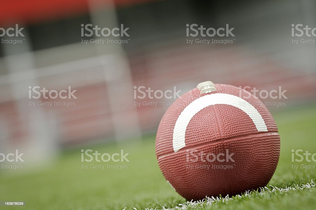 First and Goal stock photo