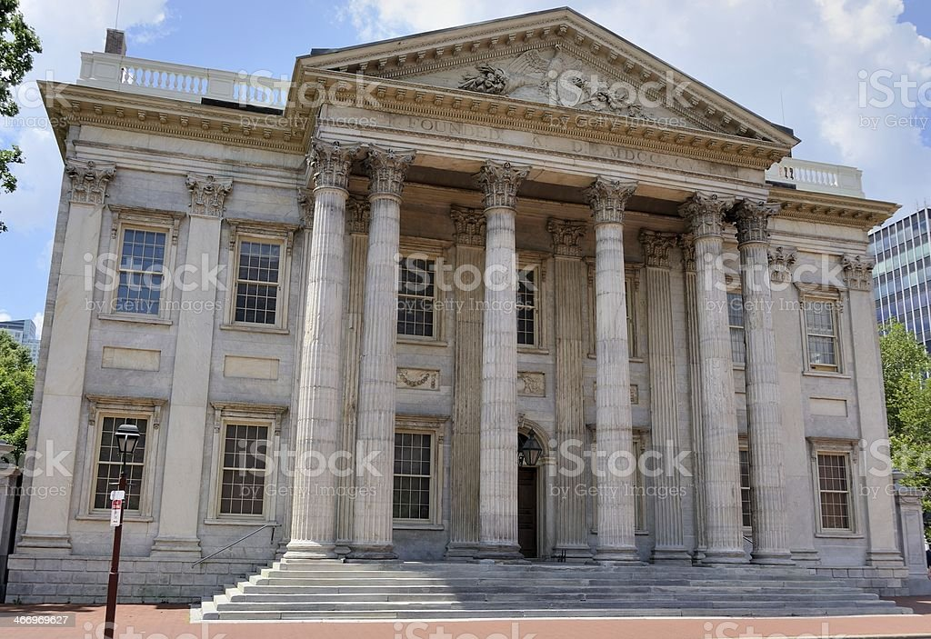 First Bank of the United States stock photo