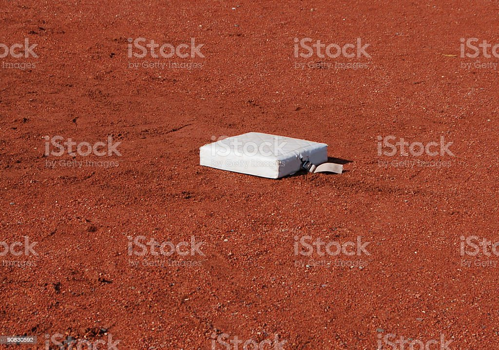 First Base in the Playoffs stock photo