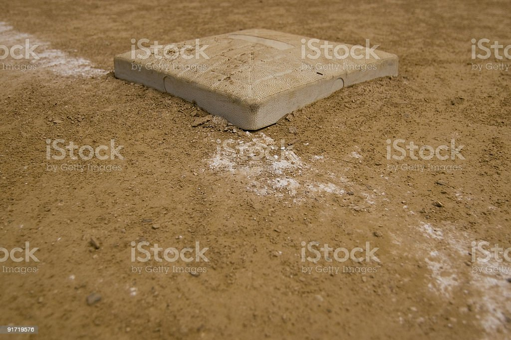 First Base stock photo