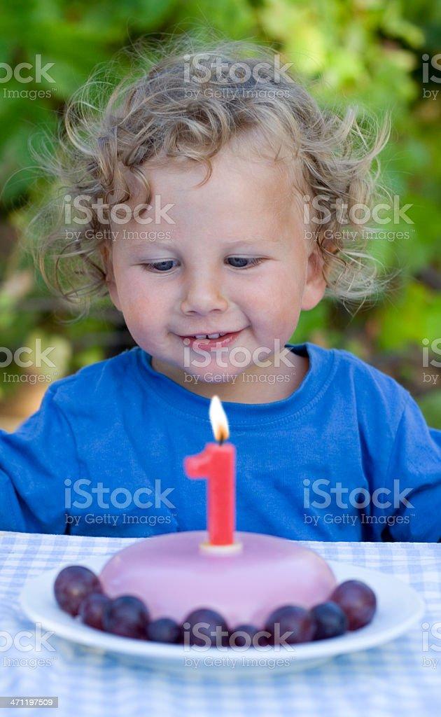 First Birthday royalty-free stock photo