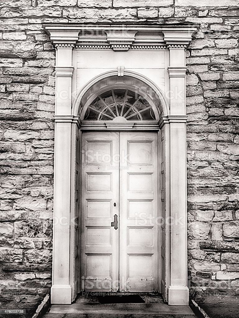 First Capital Doorway stock photo