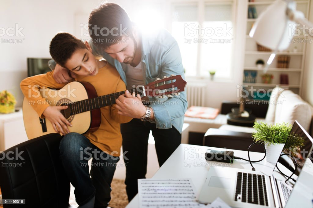 First chord stock photo
