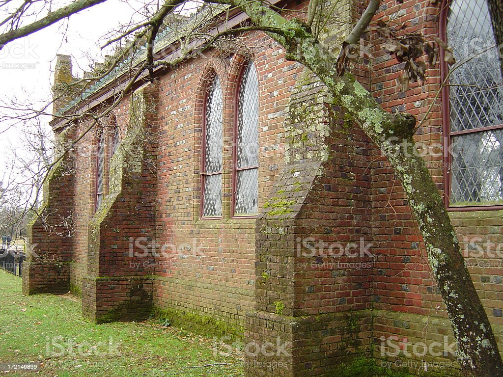 First church in America royalty-free stock photo