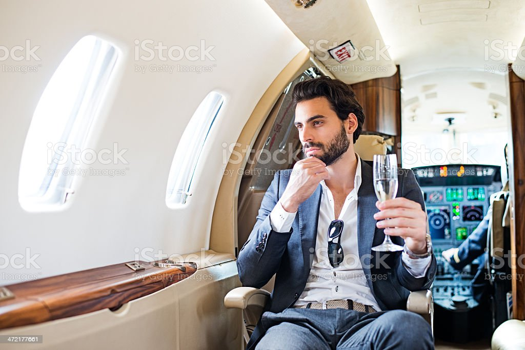 First class royalty-free stock photo
