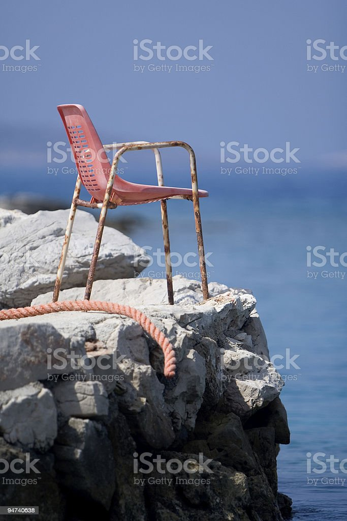 First class seat royalty-free stock photo