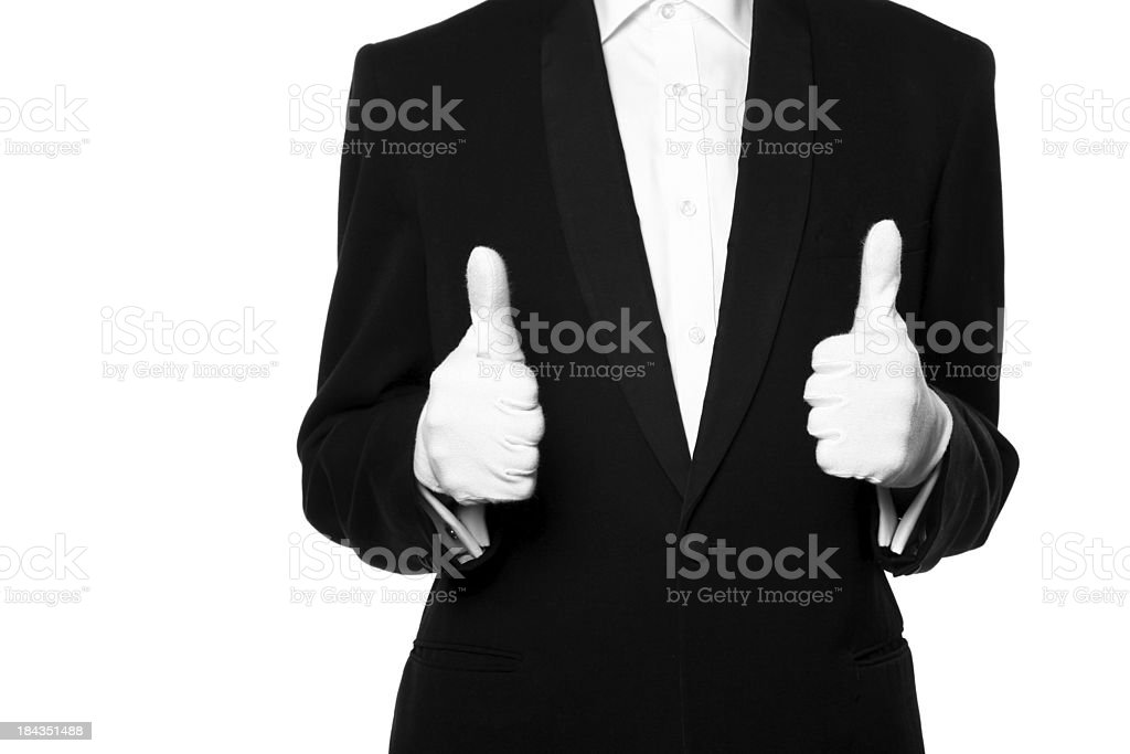 First class service royalty-free stock photo
