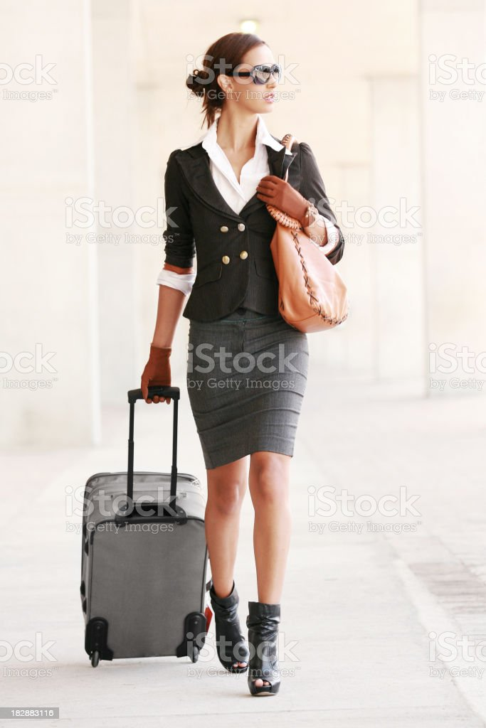 First Class Travel royalty-free stock photo