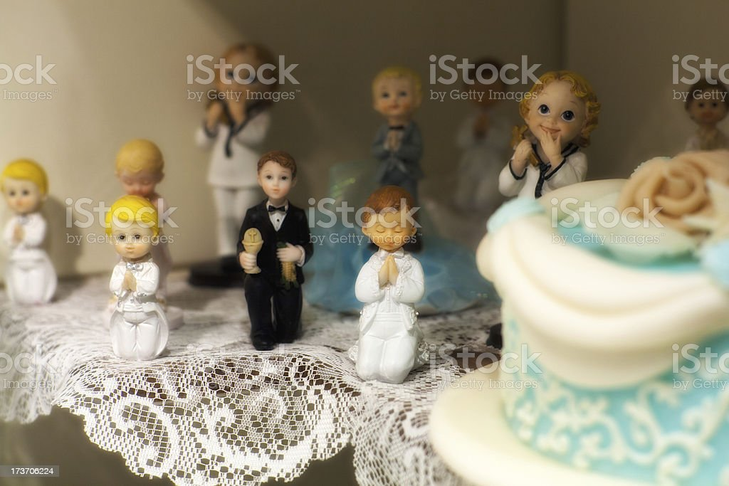 First Communion decoration royalty-free stock photo