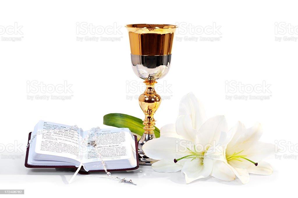 First communion symbol royalty-free stock photo
