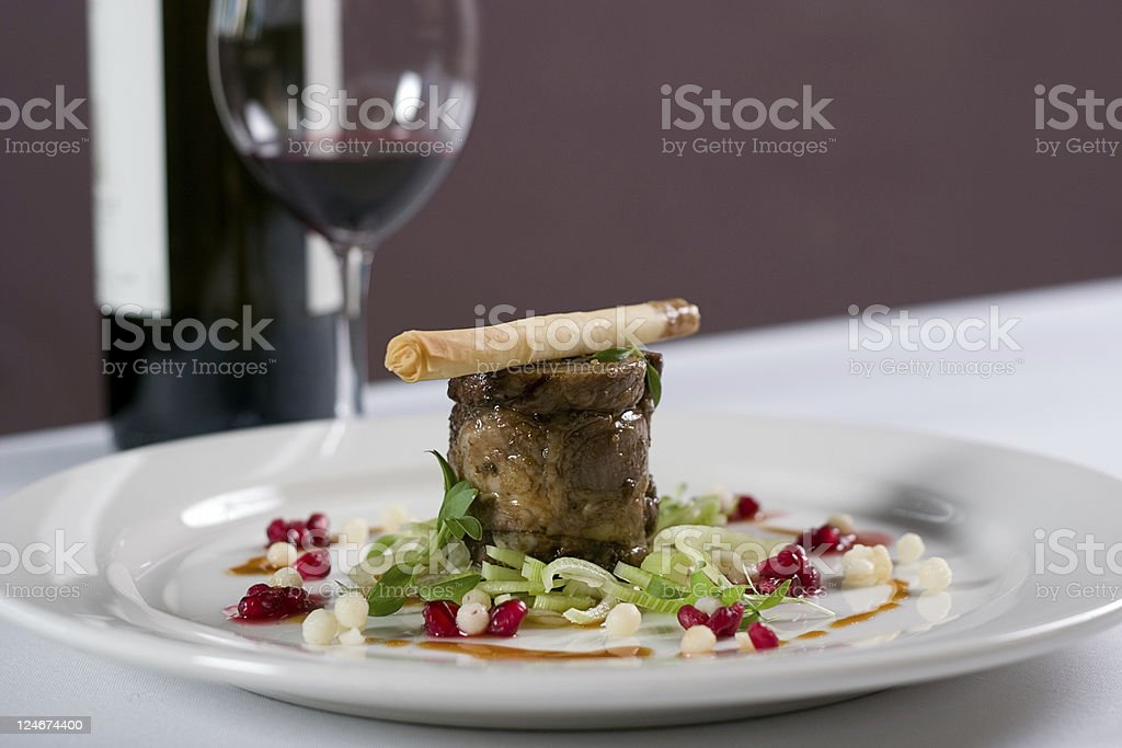 First Course royalty-free stock photo