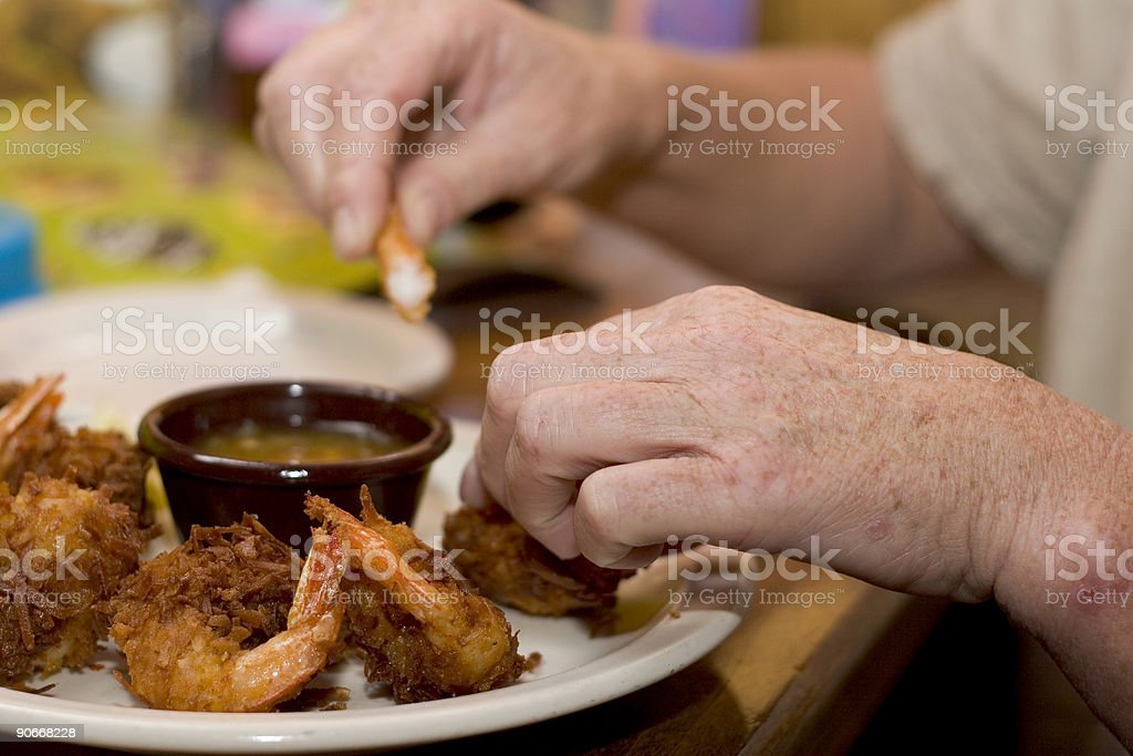 First course stock photo