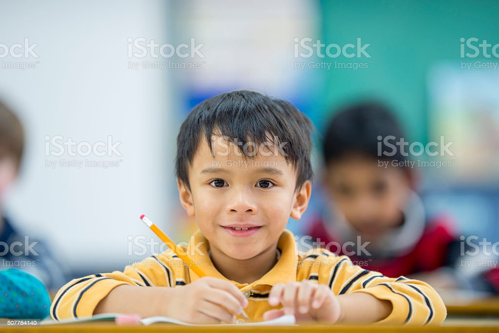 First Day Back to School stock photo