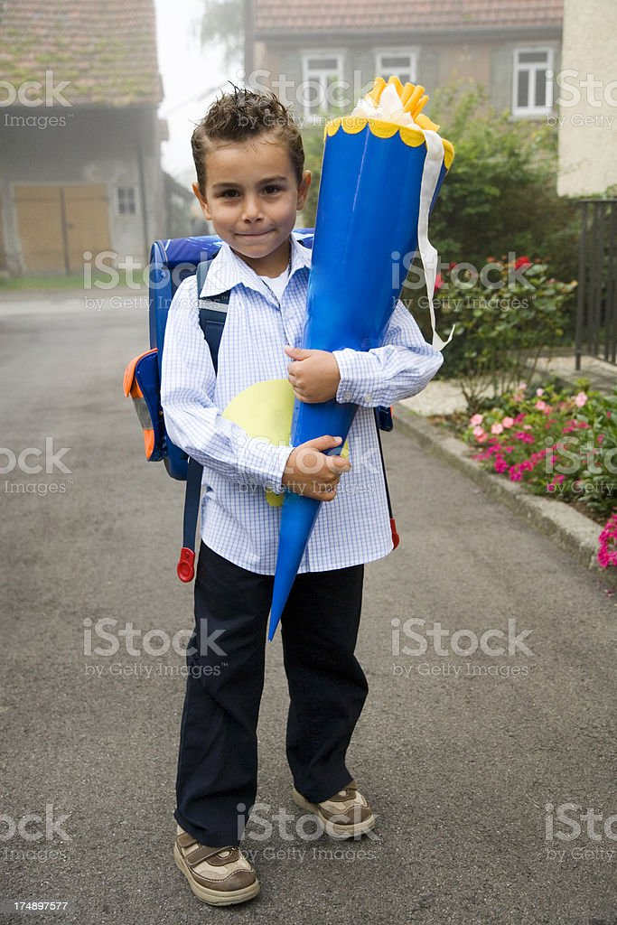 first day in school royalty-free stock photo