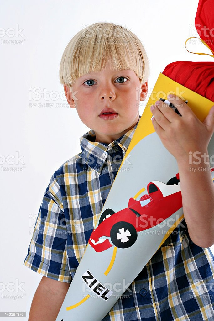 First day of school in Germany royalty-free stock photo