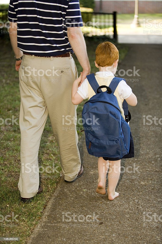 First Day of School stock photo